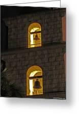 Santa Barbara Mission Bell Tower Greeting Card