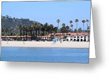 Santa Barbara Greeting Card