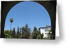 Santa Barbara Sky Greeting Card