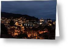 Santa Catalina Island Nightscape Greeting Card