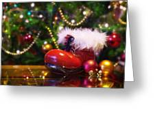 Santa-claus Boot Greeting Card