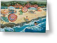 Santa Cruz Beach Boardwalk Greeting Card