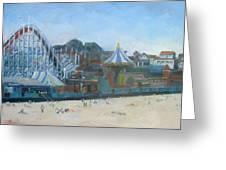 Santa Cruz Boardwalk Greeting Card