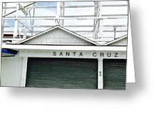 Santa Cruz, California  Greeting Card
