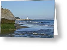 Santa Cruz Coastline - California Greeting Card by Brendan Reals