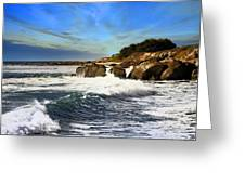 Santa Cruz Coastline Greeting Card