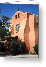 Santa Fe - Adobe Church Greeting Card