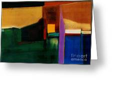Santa Fe 1 Break Loose Greeting Card