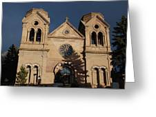 Santa Fe Church Greeting Card