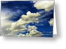 Santa Fe Clouds Greeting Card
