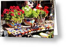 Santa Fe Color Greeting Card