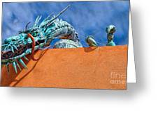Santa Fe Dragon Greeting Card