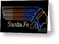Santa Fe Indian Greeting Card
