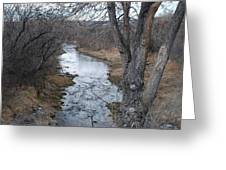 Santa Fe River Greeting Card