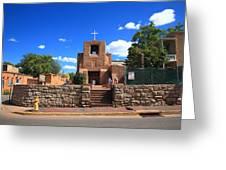 Santa Fe - San Miguel Chapel 6 Greeting Card