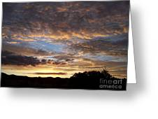 Santa Fe Sunrise  Greeting Card