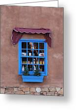 Santa Fe Window Greeting Card