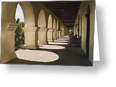 Santa Inez Arches Greeting Card