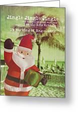 Santa Island Quote Greeting Card
