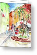 Santa Margherita In Italy 05 Greeting Card