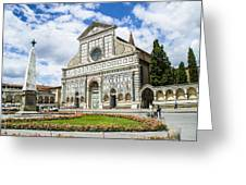 Santa Maria Novella Greeting Card