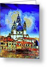Santa Maria Venice Greeting Card
