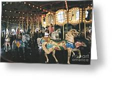 Santa Monica Carousel Greeting Card