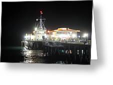 Santa Monica Pier 0719 Greeting Card