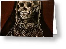 Santa Muerte Holy Death Greeting Card