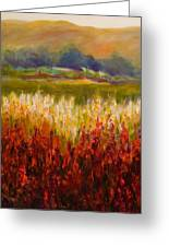 Santa Rosa Valley Greeting Card by Shannon Grissom