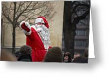 Santa Says Hello Greeting Card