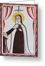 Santa Teresa De Avila - St. Teresa Of Avila - Aotda Greeting Card