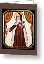 Santa Teresa De Lisieux - St. Therese Of Lisieux - Aotel Greeting Card