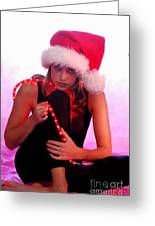 Santas Helper Greeting Card