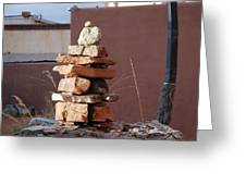Sante Fe Rocks Greeting Card