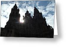 Santiago De Compostela Greeting Card
