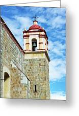 Santo Domingo Church Spire Greeting Card