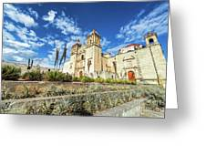 Santo Domingo Church Wide Angle Greeting Card