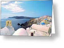 Santorini 013 Greeting Card