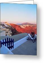 Santorini 019 Greeting Card