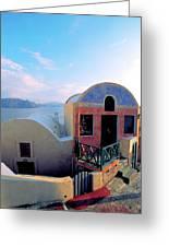 Santorini 02 Greeting Card