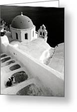 Santorini 022 Greeting Card