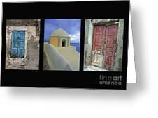 Santorini Memories Greeting Card
