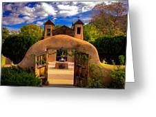 Santuario De Chimayo Greeting Card
