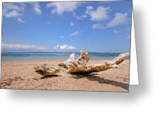 Sanur Beach - Bali Greeting Card