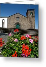 Sao Miguel Arcanjo Church Greeting Card