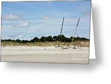 Sapelo Island Boats Greeting Card