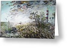 Sapelo Island Greeting Card by Richard Barham