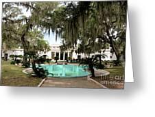 Sapelo Mansion  Greeting Card