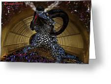 Saphira The Dragonlord Greeting Card